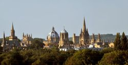 Spires of Oxford, England