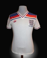 Admiral Match Worn England Youth Shirt