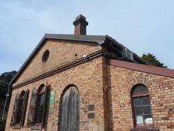 Exterior shot of the Pumphhouse