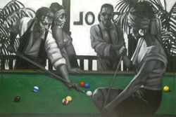 Pooltable-2 ( The Hustler ), 2014