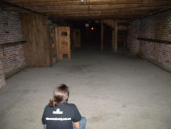 Lauren In the Dungeon at Fort William Henry