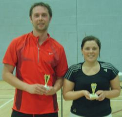 Handicap Tournament Mixed Doubles Runners Up