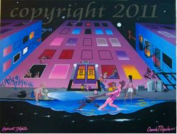 Hydrant Nights -2011(SOLD-Charles Thomas)