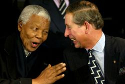 Mandela and Prince Charles