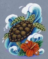Heather's Sea Turtle
