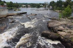 Rapids in Magnetawan