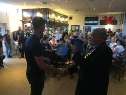 Guest of Honour  - Caldicot Mayor Dave Evans