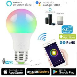 Smart Multi- colour Led Wifi Bulb