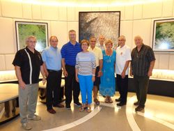 Region 16 President visits Montreal QC