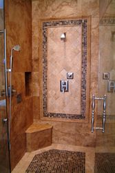 Lynden Floor Shower