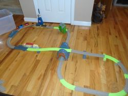 Thomas the Train Trackmaster Search & Rescue Set with Motorized Trains - $40