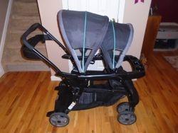 Graco Ready2Grow Click Connect Double Stroller - $80