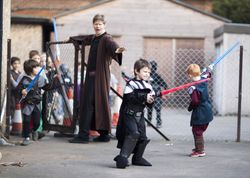 Light sabres at the ready!