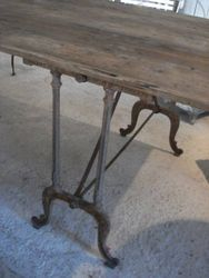 #15/209 Double Base Table detail