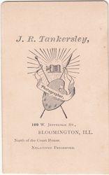 J. R. Tankersley of Bloomington, IL - back