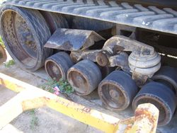 75C Parting Out Bogie Sys, & Mid-Wheels