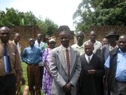 Kenya with some of the pastors and leaders