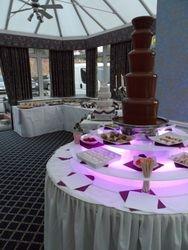Carlton park Rotherham, Chocolate fountain sweet candy dreams