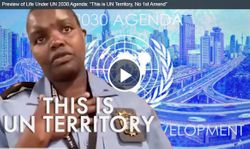 """Preview of Life Under UN 2030 Agenda: """"This is UN Territory, No 1st Amend"""""""