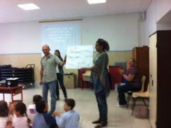 Présentation MARPLE en France à des enfants de l'école primaire ST joseph de Saint jean de luz
