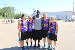 13-15yrs Old Girls Runner's Up: St. Albert Slam