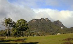 View of Cathederal Ranges