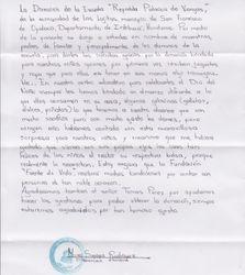 Teacher's Letter of Appreciation