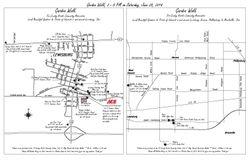 Garden Walk Location Map