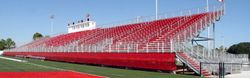 Powder Coated Stadium Bleachers