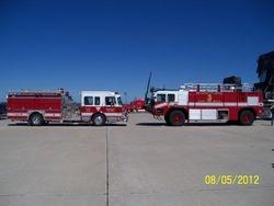 ARFF Training Des Moines Intl. Airport, 8-5-12