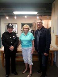 IPA President visits Saint John Police Museum