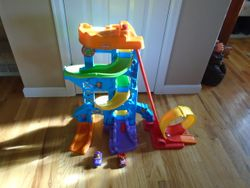Fisher Price Little People Loops 'n Swoops Amusement Park - $30