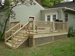 built new deck