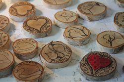 Wood-Quilted Ornaments!
