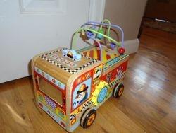 Alex Toys Wood Busy Fire Truck Bead Maze - $15