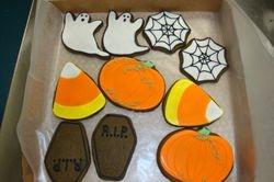 Halloween cookie assortment $2-$3/ea