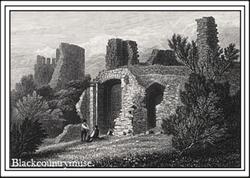 Dudley Castle. c1838.