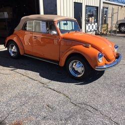 1972 Volkswagen Super Beetle Convertable