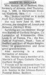 Molnar, Mary Riley 1986
