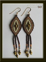 Brickstitch Earrings