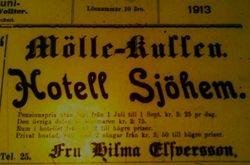 Hotell Sjohem 1913