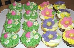 Katie's Garden Cupcakes