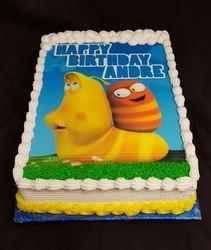 Larva Cartoon Cake