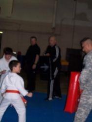 Kicking Skills Test at Reserve Center