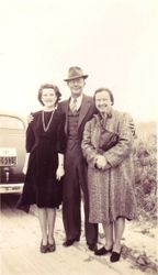 Mannings, Claude, Alice, Margaret - 1930's