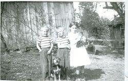 Raymond, Robert, and Helen Shirk