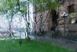 Rhythm of the Falling Rain by Karen Davidson (AC)