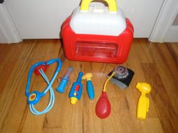 Fisher Price Medical Kit - $15