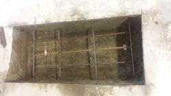 Groundwork for beam installation