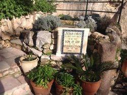 The Garden Tomb...